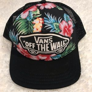 VANS Off The Wall Tropical Floral Hat